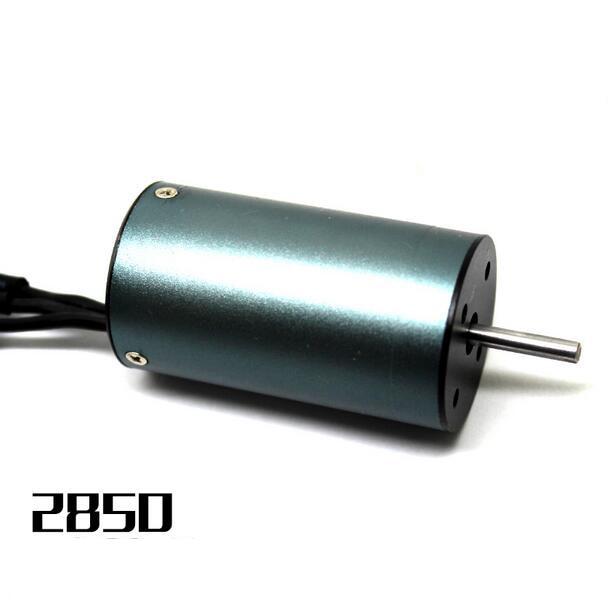 High quality 2850 four pole brushless motor for 1/12 1/10 RC Car 3000KV<br>