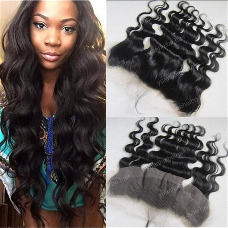 Quality 8A Virgin Brazilian Hair Lace Frontal 13x4 Full Lace Frontal 12-26inch Body Wave Lace Frontal Closures<br><br>Aliexpress