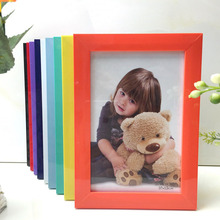 ZUCZUG  Korean Photo Frames European Creative Photo Frames Plastic Frame Multiple Colors Suitable For Family  Photo Display
