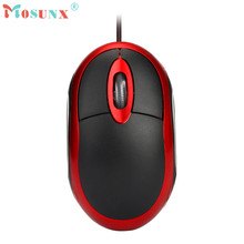 Mosunx advanced Design 1200 DPI USB Wired Optical Gaming Mice Mouse For PC Laptop 2017 Hot sales tablets 1PC