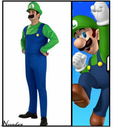 Halloween Super Mario Bros Costume For Kids & Adults