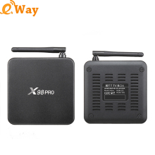 Hot Selling X98 PRO Metal Box media palyer Amlogic S912 Android 6.0 TV Box Octa Core Fully Loaded 4K Smart Set top box