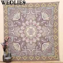 Indian Mandala Tapestry Wall Hanging Throw Blanket Bohemian Bedspread Dorm Cover Home Room Wall Decorative Crafts Accessories