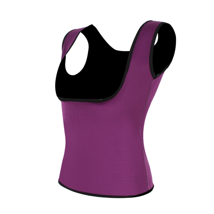 Palicy Women's S-2XL Sauna Vest Suit Neoprene Body Shaper Thermo Ultra Sweat Waist Trainer Female Tummy Control Belly Girdle 13