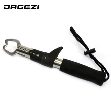 DAGEZI fishing lip grip aluminum fishing tools with retail packing and lanyard fishing tackle fishing accessories 13(China)