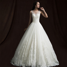 Buy Real Model Lace Ball Gown Princess Wedding Dresses 2018 China Bridal Wedding Gowns Vestido De Noiva 2018 Vintage Wedding dress for $170.29 in AliExpress store