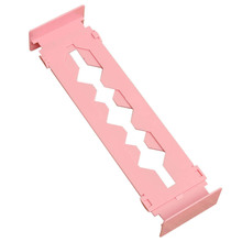 Adjustable Stretch Home Partition Closet Drawer Divider Tidy Storage Organizer Color:Pink