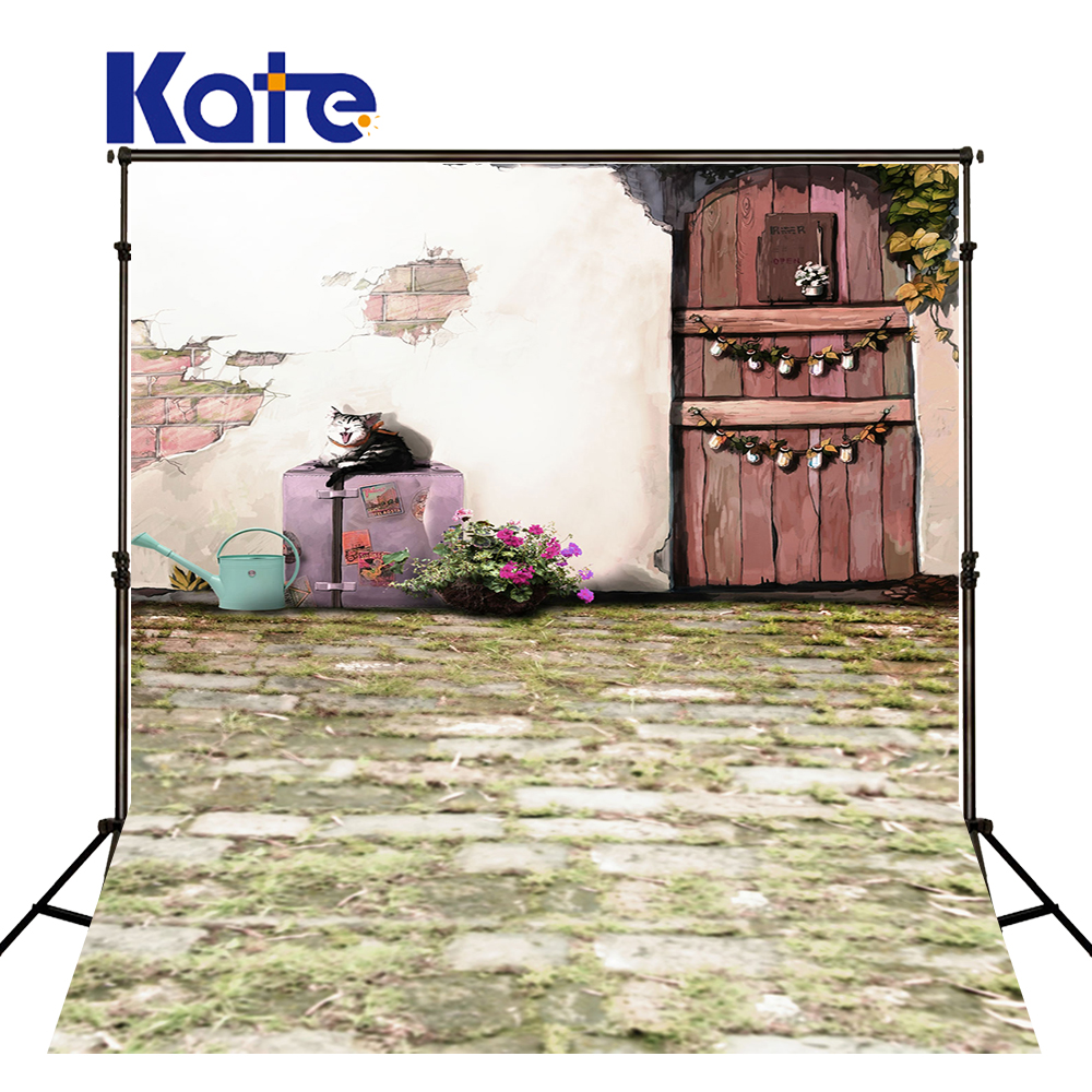 200Cm*150Cm Backgrounds Kettle Sleepy Cat House Photography Backdrops Photo Lk 1357<br>