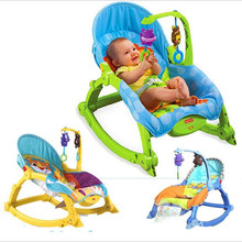 Electric Appease Baby Rocking Chiar Bouncers,Jumpers & Swings Multi-function Cradle Baby Bed&Chair Wholesale Children's swing(China)