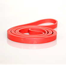 Fitness Equipment 208cm Sport Gym Rubber Band Fitness Equipment Elastic Exercise Bands Pull Up Strengthen Muscles P25(China)