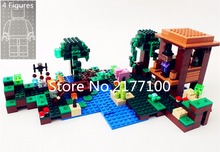 NEW 10622  My worlds series The Witch Hut model Building Blocks set Classic architecture toys for children compatible 21133