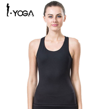 Fitness Yoga Shirts Women Breathable Fitness Women Sports Shirts Running Jogging Gym Running Tank Top Sexy Elastic Vest 15003(China)