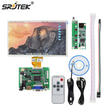 "7"" inch For Raspberry Pi LCD Display TFT Monitor AT070TN90 With Touch Screen Kit HDMI VGA Input Driver Board 800*480(China)"