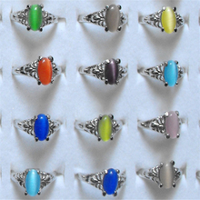 Buy Wholesale Mix lot 15pcs Cat Eye Stone Ring Fashion Charming Wedding Rings Women Jewelry Accessories for $2.16 in AliExpress store
