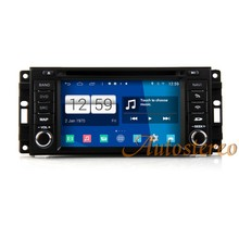 Dual system Android S160 HD 800*480 Quad Core Car GPS Navigation for Chrysler Jeep Grand Cherokee Dodge(China)