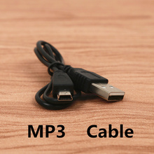 FFFAS 50cm Short Mini USB Charging cable usb data sync charger cable for MP3 MP4 Canon Camera mobile phone Navigator Mini port(China)