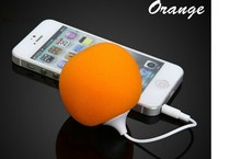 Fashion Hotl Creative Orange Portable Mini Computer Speaker, Audio Dock Speaker Sound Box For Mobile Phone Tablet PC MP3 MP4 PSP