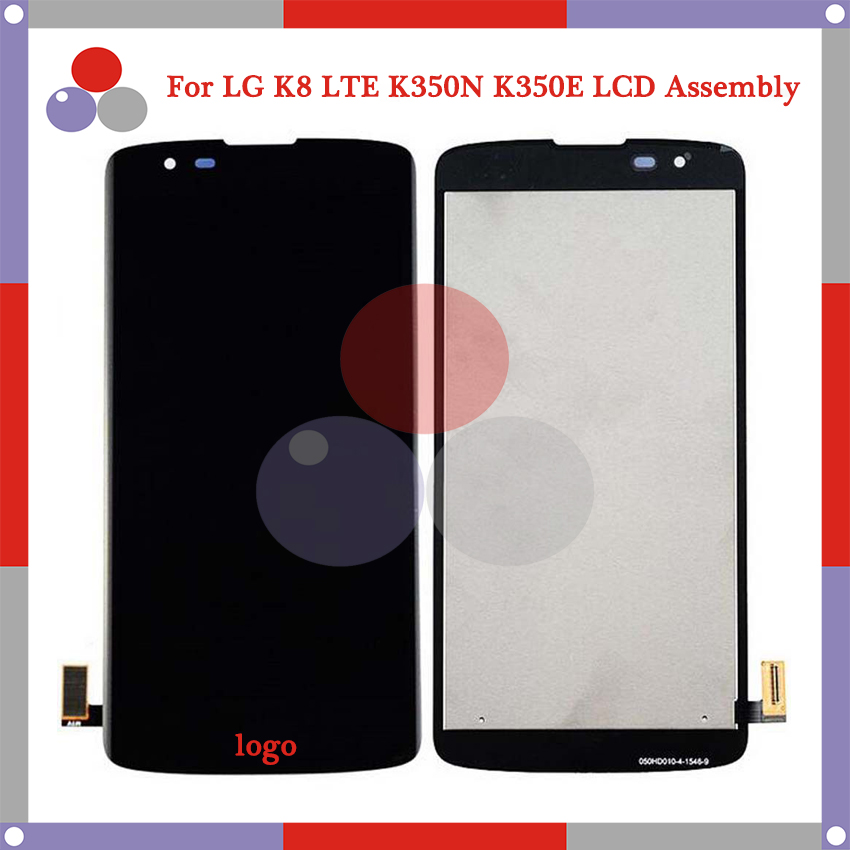 10Pcs/lot 5.0 For LG K8 K350N K350E K350DS LCD Screen Display + Touch Screen Digitizer Assembly Free shipping<br>