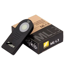 Camera IR remote switch ML-L3 Remote Control for Nik0n D7000 D5100 D5000 D3000 D90 P6000 P7000 D60(China)