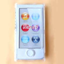 Transparent Clear PC Hard Case Cover For Apple ipod Nano 7 Cases Covers(China)