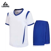 2017 Men Kids Football Kits Boys Soccer Sets Jersey Uniforms Futbol Training Suits Breathable Polyester Short Sleeved Jerseys(China)