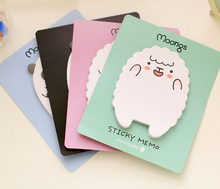 Cute Sheep & Panda Memo Pad Sticky Notes Memo Notepad School Office Supply Escolar Papelaria Gift Stationery