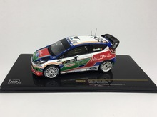 Special offer Ixo 1:43 FORD FIESTA WRC # 3 2011 British Rally Alloy car model Collection model Holiday gifts