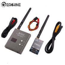 Eachine FPV Boscam 5.8G 600mW 32CH Wireless Transmitter Receiver TS832 RC832 For FPV Multicopter