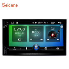 Seicane 2DIN Android 6.0 7 inch head unit Universal GPS Navigation Bluetooth Stereo Radio Player Video WIFI Support DVR OBD2