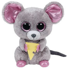 15CM 2017 Hot Sale Ty Beanie Boos Big Eyes the Mouse Plush Toy Doll Stuffed Animal Cute Plush Kids Toy juguetes brinquedos(China)