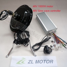 Electric bicycle motor conversion kit 48v 1000w/ebike modify sine wave controller thumb throttle and brake lever G-S008
