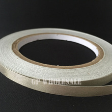 1x 19mm* 20 meters Silver Plain Sticky Conductive Fabric Tape for Laptop LCD OPP Mobile Phone Cable Wrap EMI Shielding