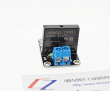 Free shipping 5V 1 Channel OMRON SSR High Level Solid State Relay Module 250V 2A