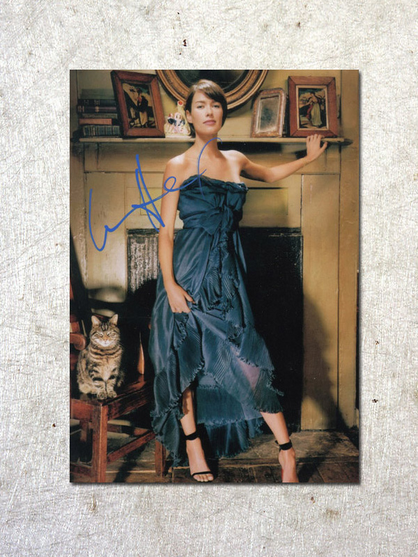 signed Lena Headey Game of Thrones autographed original photo 7 inches free shipping  092017A<br>