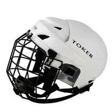 Premium Professional Ice Hockey Helmet Parent-child Ice Sport Safety Helmet Outdoor Human Engineering Protection Ultra Tough(China)