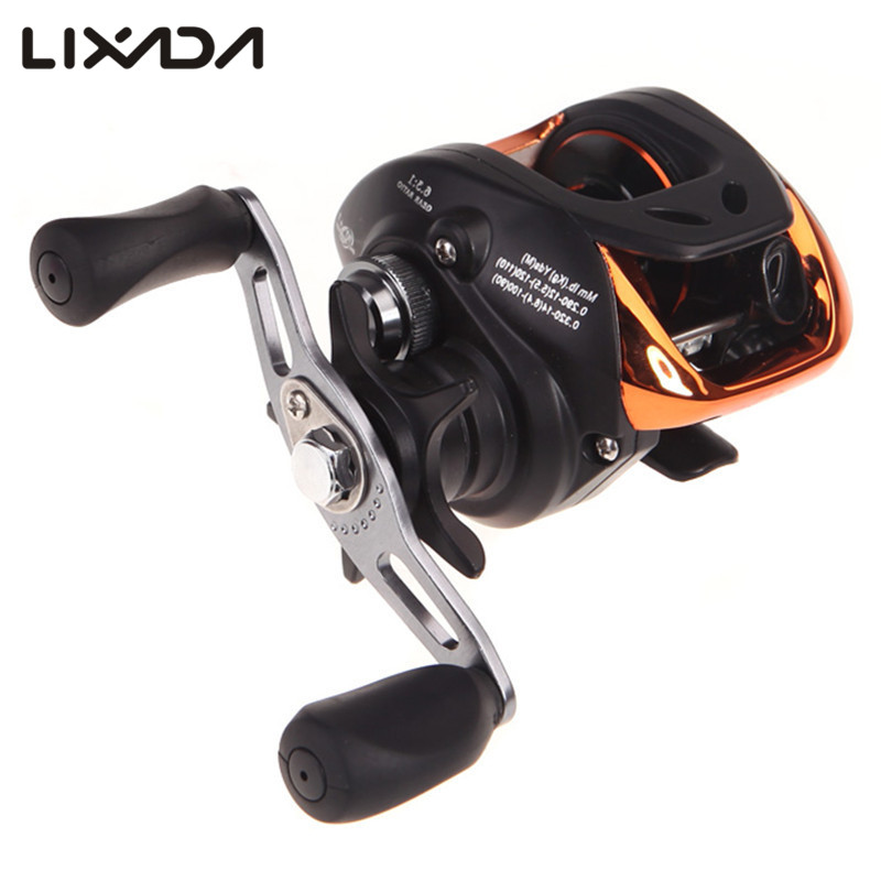 Lixada 10+1BB Ball Bearing Left/Right Hand Baitcasting Reel High Speed Carp Fishing Reel Carretilha De Pesca AF103 6:3:1 Gear(China (Mainland))
