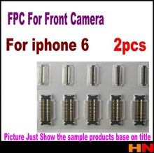2pcs FPC Connector On matherBoard For iPhone 6 4.7inch for front camera Mobile Phone Flex Cables