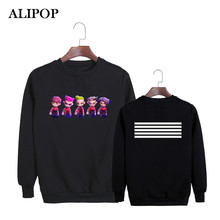 Buy ALIPOP KPOP Korean Fashion BIGBANG Always Album MADE Lies Concert Cartoon Cotton Hoodies Clothes Pullovers Sweatshirts PT455 for $20.87 in AliExpress store