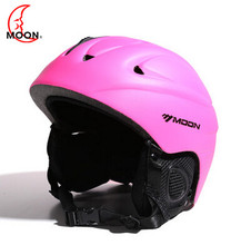 MOON 2017 Newest style Ski helmet professional skiing sports snow safety good quality helmet