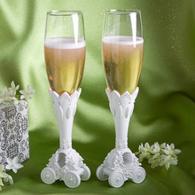 Fairytale Coach Wedding Toasting Flutes (Set Of 2)