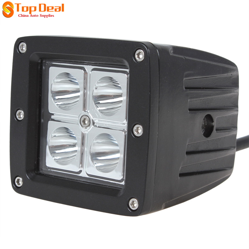 Waterproof 16W LED Work Light Bar Led Flood Light Lamp for Motorcycle Road Offboard 4 x 4W SUV ATV Boat Lamp<br><br>Aliexpress