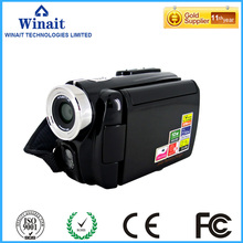 Winait Dual Solar Panel charging digital video camera withMovie record Picture record 8X digital zoom(China)