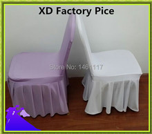 spandex / polyester chair cover , chair decoration for dining decoration Free Shipping & Factory Price(China)