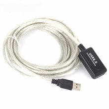 20M/15M/10M/5M USB2.0 Male to Female Active Repeater Extension Extender Cable Cord M/F(China)