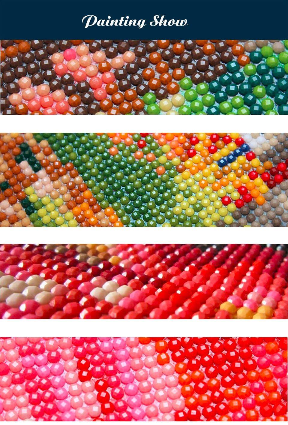 Круглые стразы для алмазной вышивки