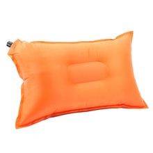 50*26CM Ultralight Comfortable Outdoor Traveling Automatic Air Inflatable Cushion Pillow Travel Kits