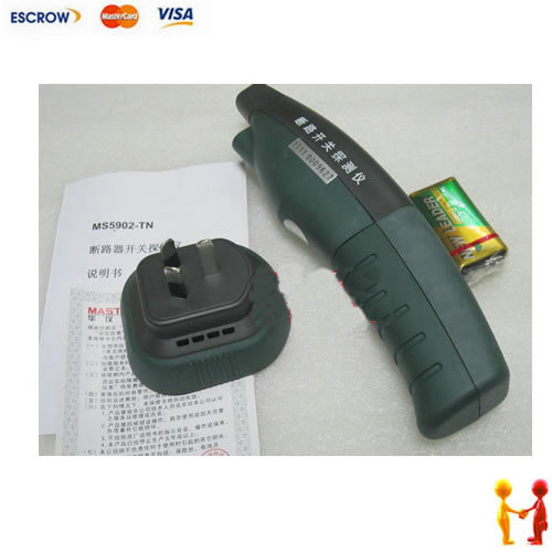 Free shipping MS5902 Circuit Breaker Finder/Socket Tester Instruction/Fully automatic Circuit Breaker Finder<br>