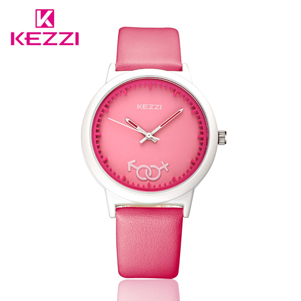 KEZZI Brand Leather Strap Watches Women Dress Watch Relogio Ladies Wristwatches/Clocks Designer Ladies Gift Quartz Watch/Reloj.<br><br>Aliexpress