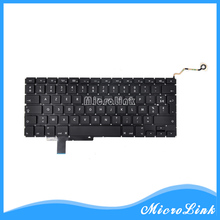 "New FR keyboard FITS MacBook Pro 17"" A1297 French Layout keyboard Year 2009 2010 2011 2012(China)"