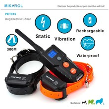 High Quality Electronic Collar Dog Shock Training Collar Remote Control Pet Trainer Hunting Dog Collar for Dogs